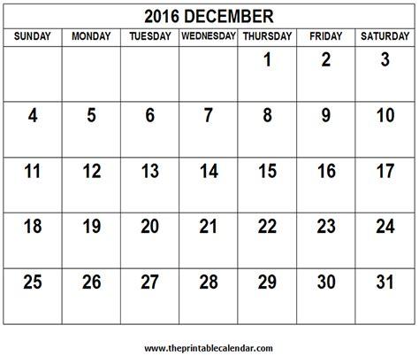 Would You Rather Calendar 2016 December Calendar 2016 Word Documents
