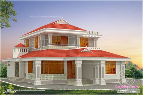 beautiful indian home design in 2250 sq feet kerala home kerala style beautiful home in 2250 sq ft house design plans