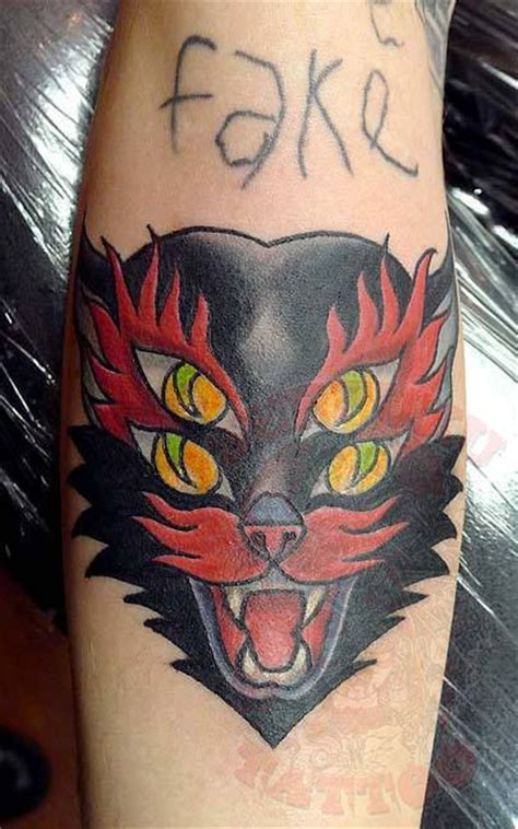 seppuku tattoo johnythief four eyed cat seppuku johnny thief nj