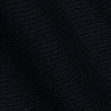 Material Black black cotton canvas fabric