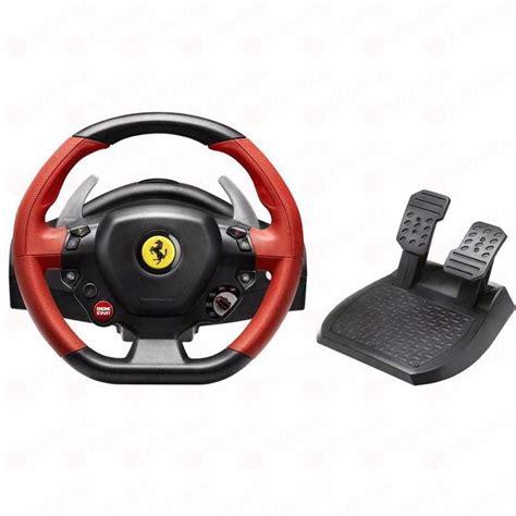 volante thrustmaster volante thrustmaster 458 spider racing wheel xbox