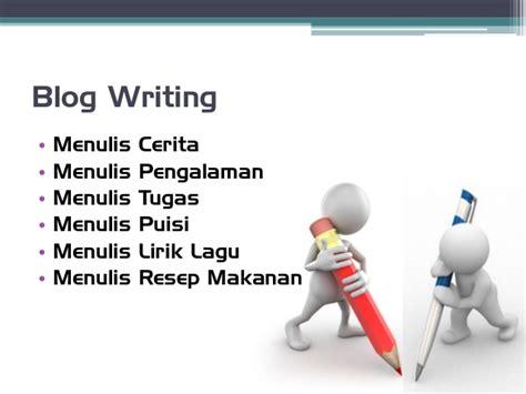menulis puisi lirik pelatihan blog