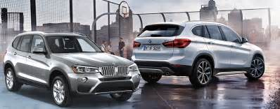 the 2017 bmw x1 vs the bmw x3 which is right for you