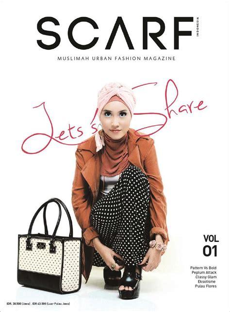 majalah fashion design jual majalah scarf indonesia ed 01 2013 gramedia digital