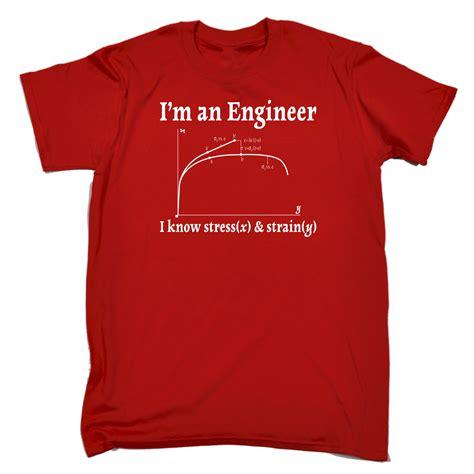 design t shirts jobs mens im an engineer i know stress funny joke job work t