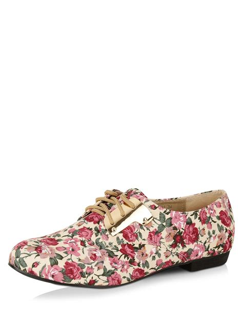 foot from flat shoes buy my foot floral print flat shoes for s