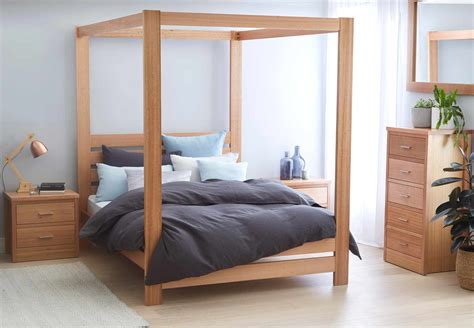 hoxton four poster bed our luxury modern four poster bed springwood bed frame 4 poster natural bedroom