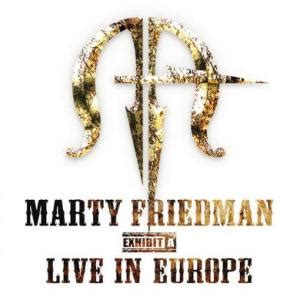 marty friedman exhibit a live in europe reviews