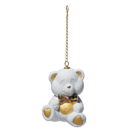 teddy bear ornament 1018370 lladro ornament seaway