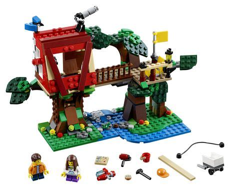 Lego 174 Creator Treehouse Adventures 31053 Walmart Ca Lego House Walmart