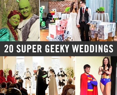 20 geeky weddings things