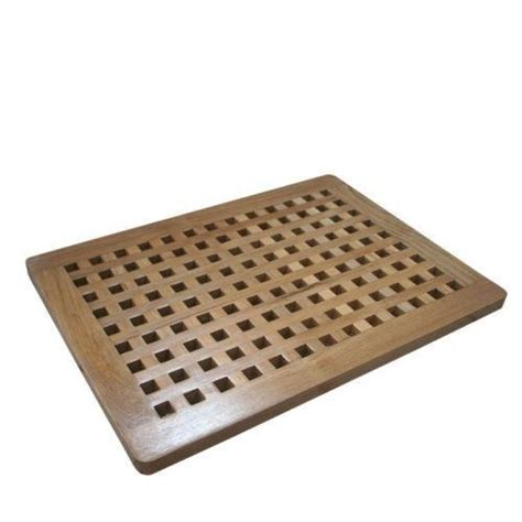 Shower Mats by Teak Shower Mat Ebay