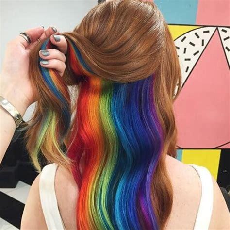 peek a boo hair color 50 peekaboo highlights ideas hair motive hair motive