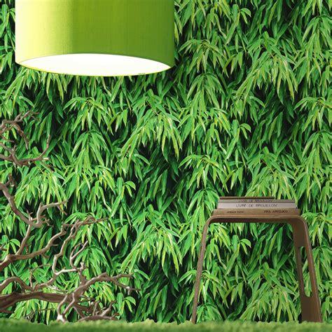 Great Green Idea Tromple Loeil Shopper by Papier Peint Vert Bambou Pour Une Ambiance V 233 G 233 Tale En