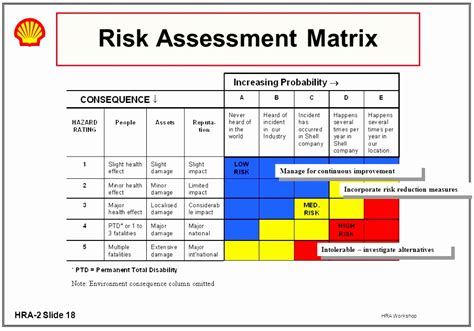 risk assessment program template 6 hazard risk assessment matrix template oieeo templatesz234