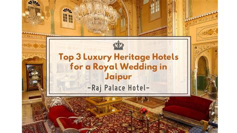 Budget Wedding In Jaipur by Top 3 Luxury Heritage Hotels For Royal Wedding In Jaipur