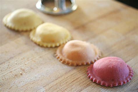a rainbow of ravioli crumb a food blog