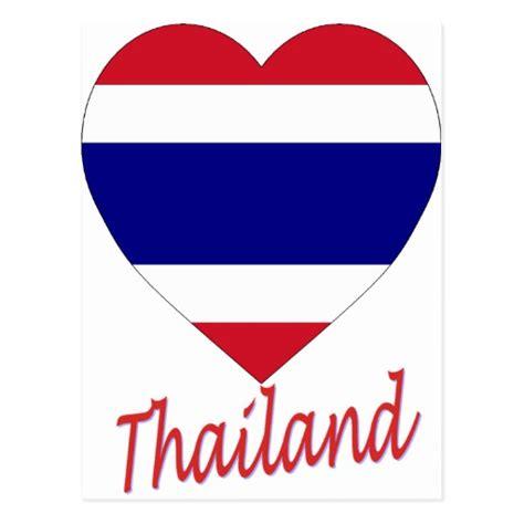 thailand flagge t shirts zazzle thailand flaggen herz postkarte zazzle