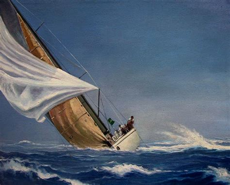 sailboat in storm boats portraits boats paintings by paintyourlife