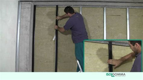 insulating interior walls for sound sound insulation mineral mustwall partition walls 125mm