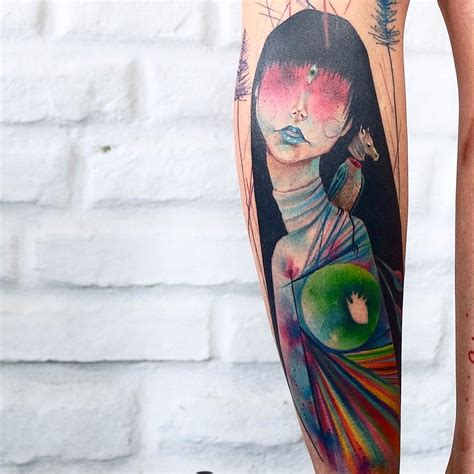 quarter sleeve watercolor tattoo 50 truly artistic watercolor sleeve tattoos tattoomagz