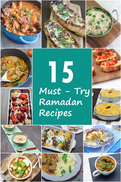 15 must try ramadan recipes maya kitchenette