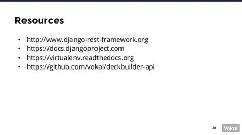 django tastypie tutorial building an api with django and django rest framework