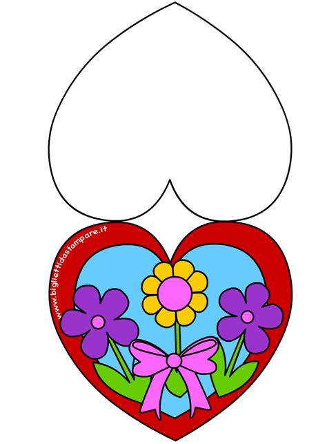 festa della mamma fiori biglietto festa della mamma cuore con fiori colorati