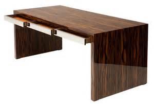 Ebony Desk Jonathan Baring Furniture Macassar Ebony Desk