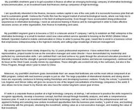 Short Term Career Objectives Examples Short And Long Term Goals Essay