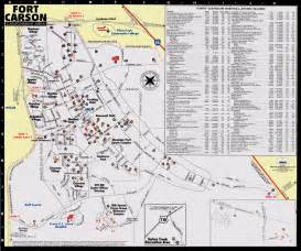 fort carson colorado map fort carson map world map 07