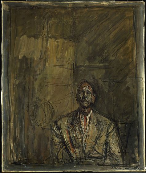 portrait jean genet giacometti exhibition of paintings sculptures and drawings by