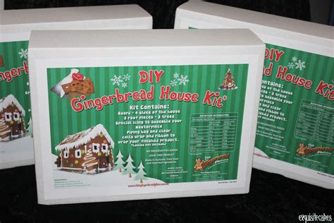 diy gingerbread house diy gingerbread house kits exquisite cakes sydney
