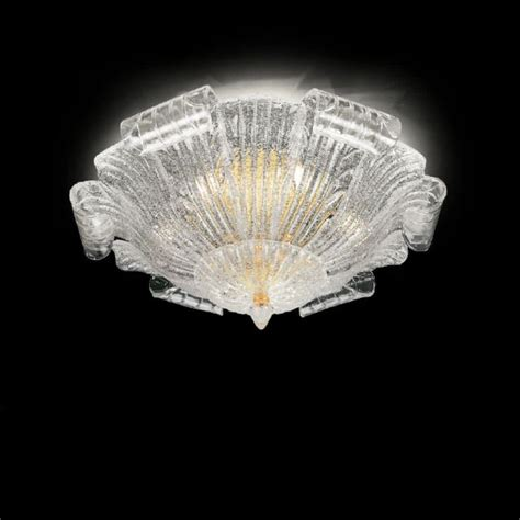 murano glass ceiling light the world finest glass