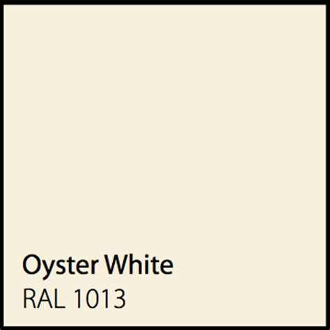what color is oyster color options mascotte security