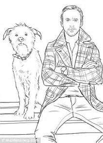 ryan gosling colouring book crayons at the ready girls daily mail online