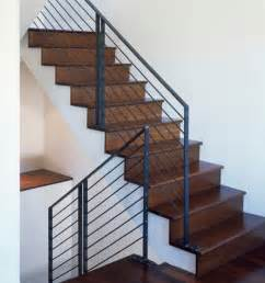 Modern Banister Rails by Image Gallery Modern Metal Railing