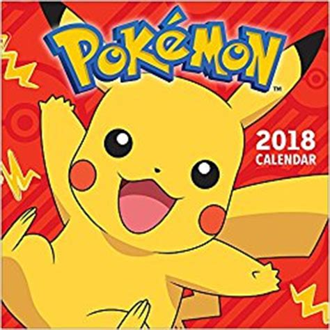 libro pokemon official 2018 calendar pokemon 2018 wall calendar amazon co uk pokemon 9781419728105 books