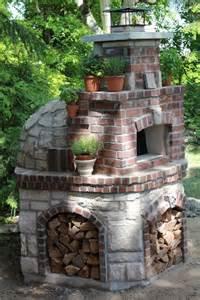 backyard pizza oven pizza oven kit 47 quot wood fired indoor outdoor volta