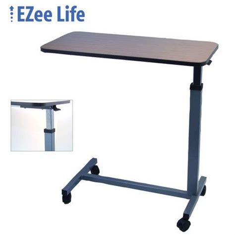 walmart bed table ezee life patient overbed table walmart ca