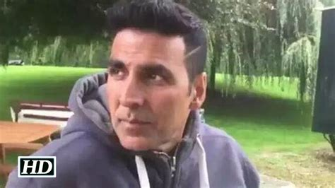 handsome looking hair styles cutting of akshay kumar housefull 3 akshay kumar s exclusive look out youtube