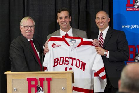 Coach David Brown Mba by New Hockey Coach Welcomed Home Bu Today Boston
