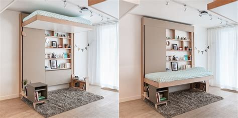 letti appesi al soffitto camas ingeniosas para espacios reducidos ideas decoradores