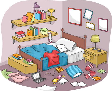 cluttered room clipart www imgkid com the image kid