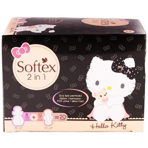 Jual Softex Laurier Malam by Jual Softex Hello 2 In 1 20 Pads Lavish Store