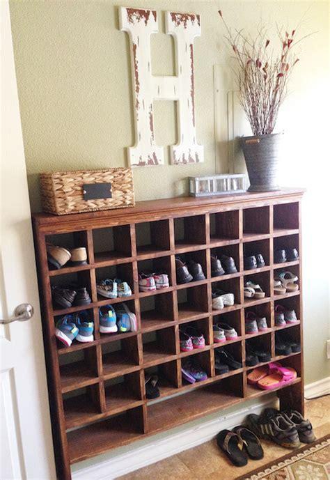 mueble zapatero de madera zapateros diy 13 ideas para crear tu propio zapatero
