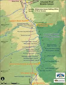 arkansas river map colorado rafting the arkansas browns colorado a