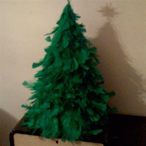 feather christmas tree fa la la la la pinterest