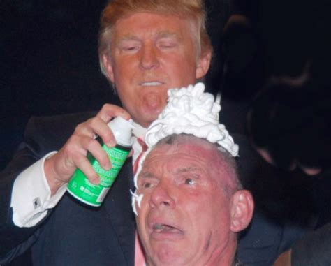 Will Donald To Shave His by Total Pro Sports Donald Vince Mcmahon S