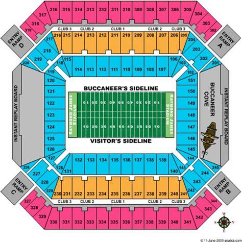 ta buccaneers stadium seating raymond stadium seating chart raymond